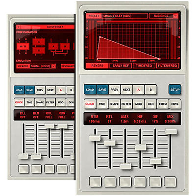 RELAB LX480 RHall Reverb (Software Download)