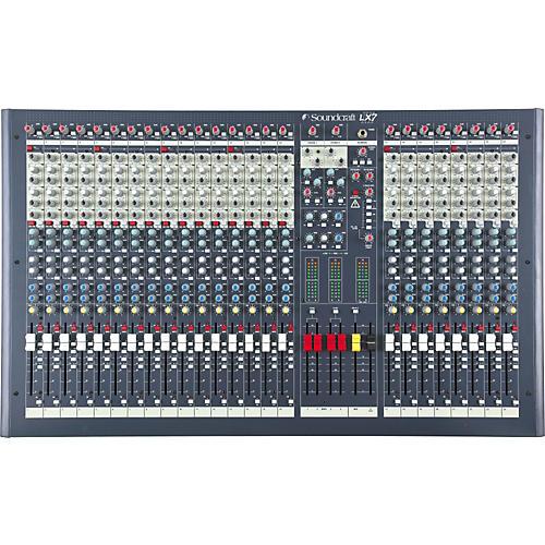 soundcraft lx7ii 24 channel mixer musician 39 s friend. Black Bedroom Furniture Sets. Home Design Ideas