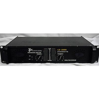 Technical Pro LZ-2000 Power Amp