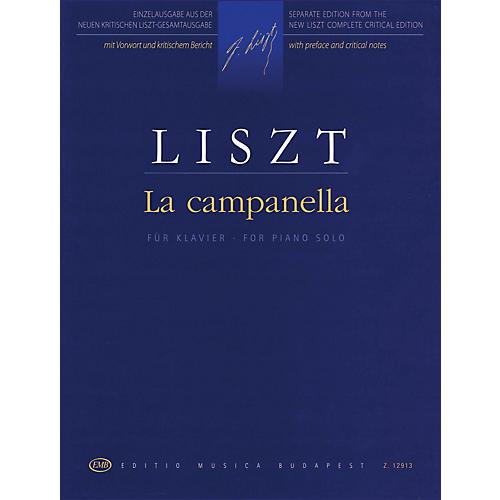 Editio Musica Budapest La Campanella (Revised Edition - Piano Solo) EMB Series Softcover