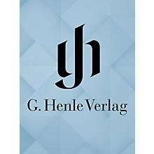 G. Henle Verlag La Canterina - Intermezzo in Musica Henle Edition Series Hardcover
