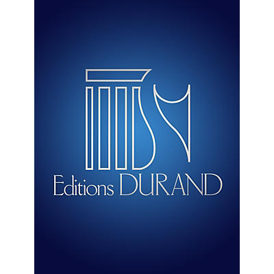 Editions Durand La Courte Paille (Voice and Piano) Editions Durand Series Composed by Francis Poulenc