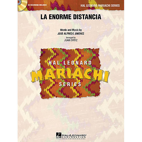 Hal Leonard La Enorme Distancia Concert Band Level 3 Arranged by Juan Ortiz