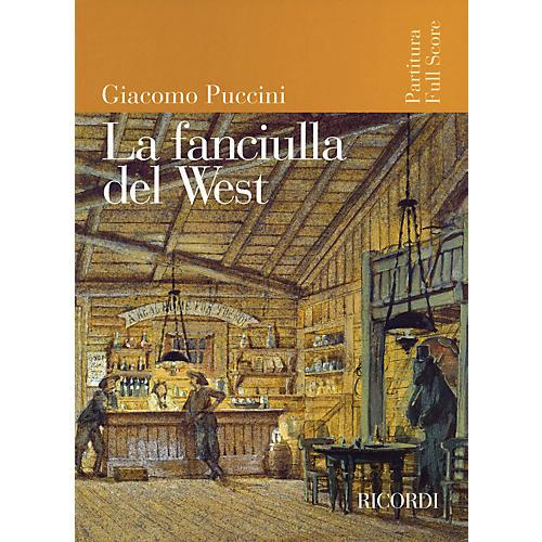 Ricordi La Fanciulla del West (Full Score) Study Score Series Composed by Giacomo Puccini