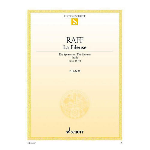 Schott La Fileuse - Etude, Op. 157, No. 2 Schott Series