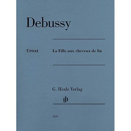 G. Henle Verlag La Fille aux cheveux de lin Henle Music Folios Series Softcover
