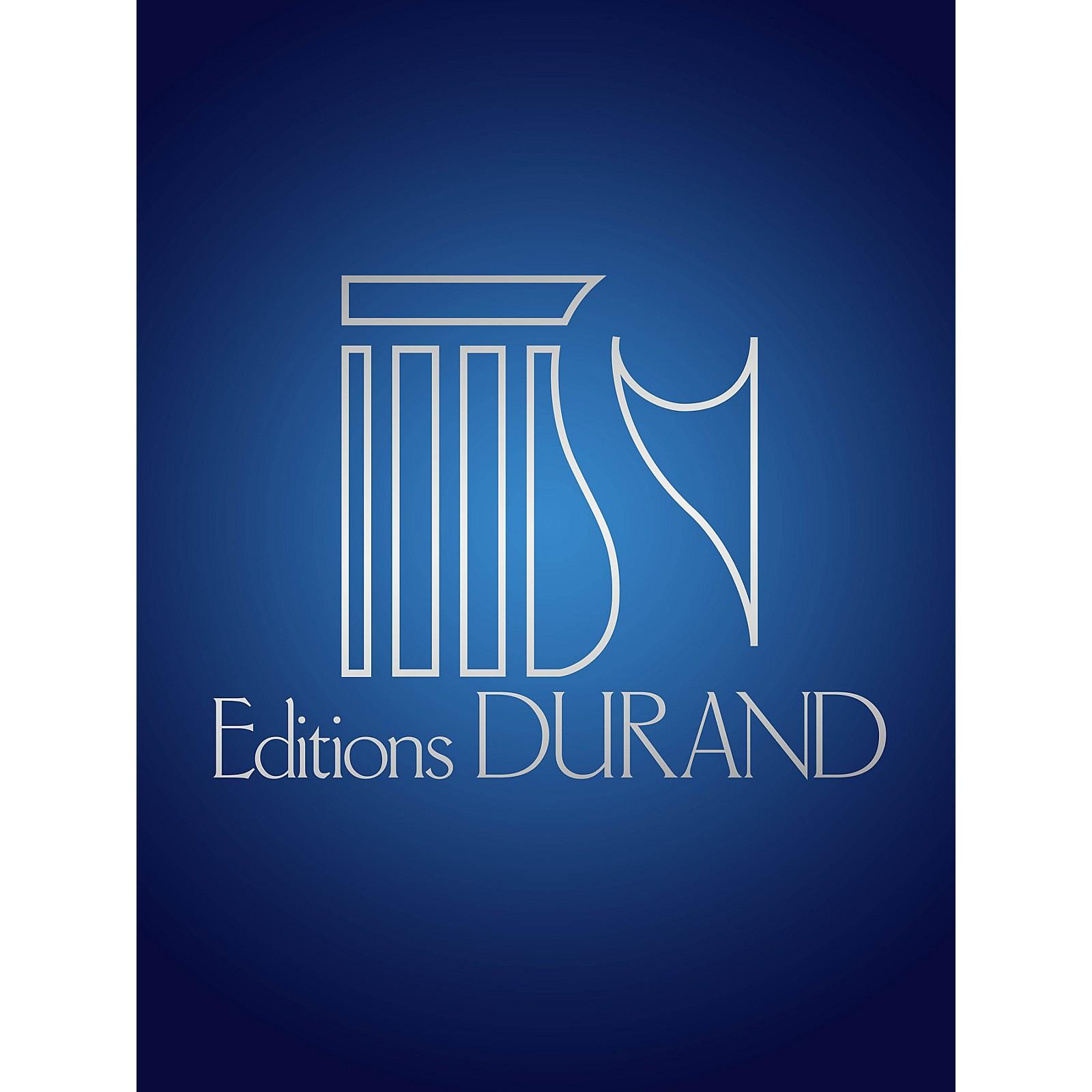 Editions Durand La mort du rossignol (SATB a cappella) Composed by Florent Schmitt
