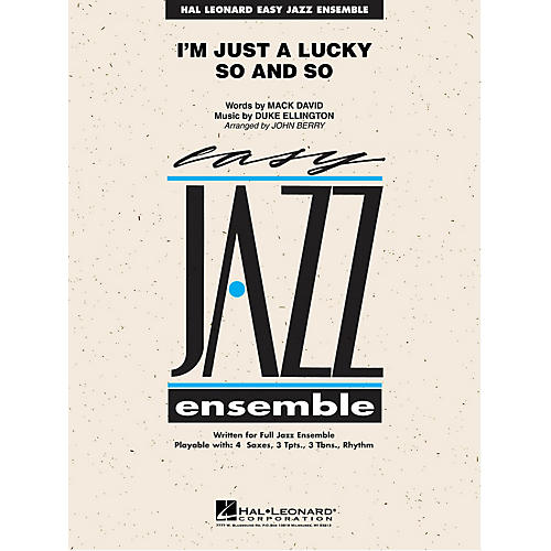 Hal Leonard Lady Bird Jazz Band Level 4 Arranged by Mark Taylor