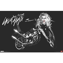 Lady Gaga - Cover Poster Premium Unframed