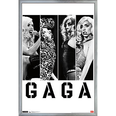 Trends International Lady Gaga - Photo Bars Poster