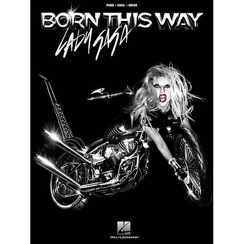 Hal Leonard Lady Gaga: Born This Way PVG Songbook