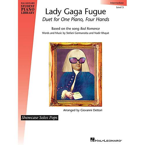 Hal Leonard Lady Gaga Fugue Piano Library Series Performed by Lady Gaga (Level 5)