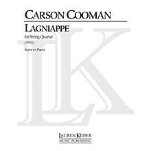 Lauren Keiser Music Publishing Lagniappe (String Quartet) LKM Music Series Composed by Carson Cooman