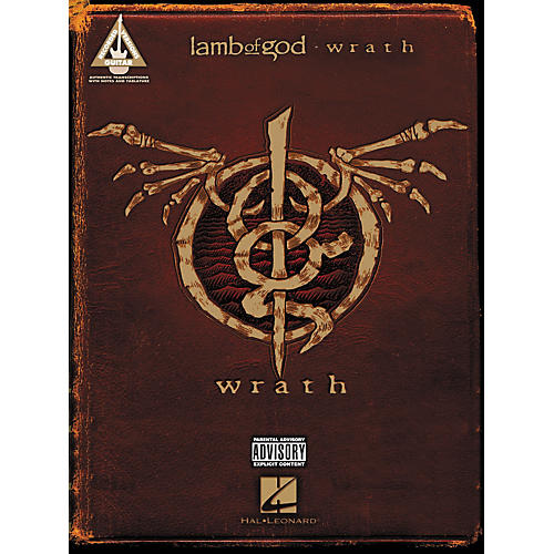 Hal Leonard Lamb Of God - Wrath Guitar Tab Songbook