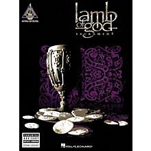 Hal Leonard Lamb of God - Sacrament Guitar Tab Songbook