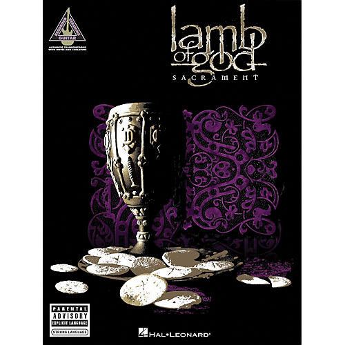 Lamb of God - Sacrament Guitar Tab Songbook
