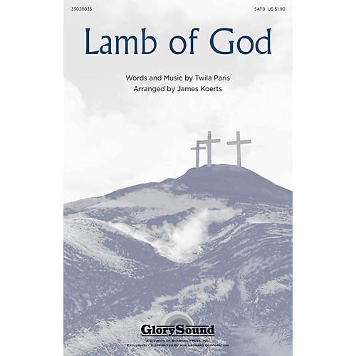 Shawnee Press Lamb of God SATB arranged by James Koerts