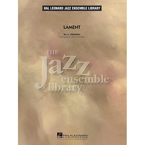 Hal Leonard Lament Jazz Band Level 4 Arranged by Mike Tomaro