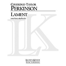 Lauren Keiser Music Publishing Lament (Viola and Piano) LKM Music Series