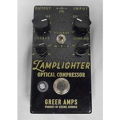 Greer Amplification Lamplight Optical Effect Pedal