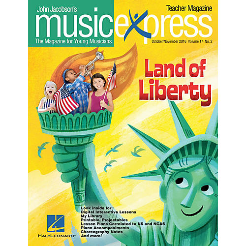Hal Leonard Land of Liberty Vol. 17 No. 2 PREMIUM PAK by One Direction Arranged by Emily Crocker