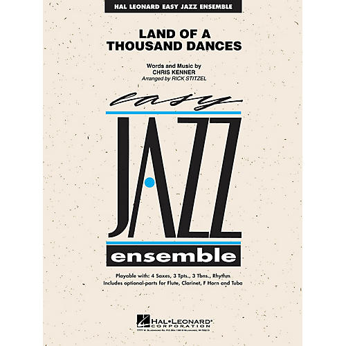Hal Leonard Land of a Thousand Dances Jazz Band Level 2 Arranged by Rick Stitzel