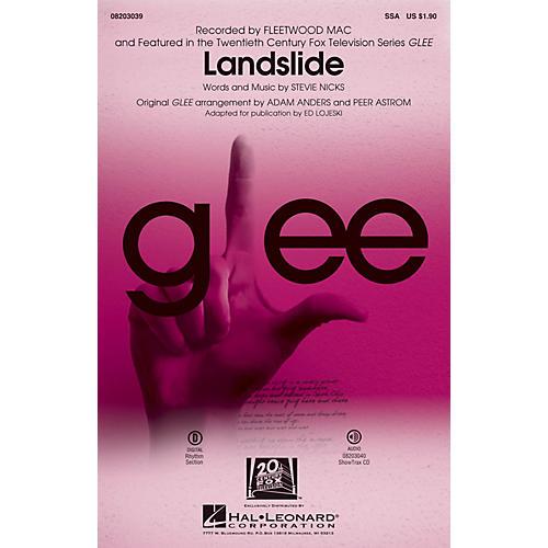 Hal Leonard Landslide SSA by Fleetwood Mac arranged by Adam Anders