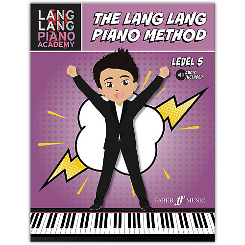 Faber Music LTD Lang Lang Piano Academy: The Lang Lang Piano Method, Level 5 Book & Online Audio Intermediate