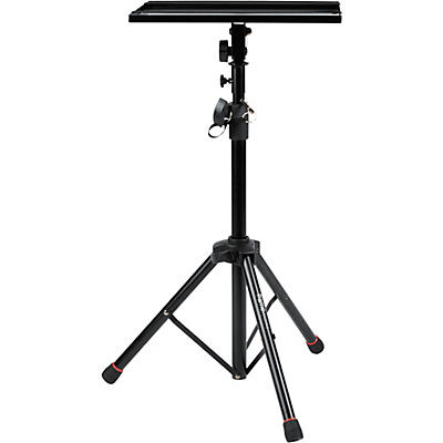 Gator Laptop & Projector Tripod Stand with Height & Tilt Adjustment