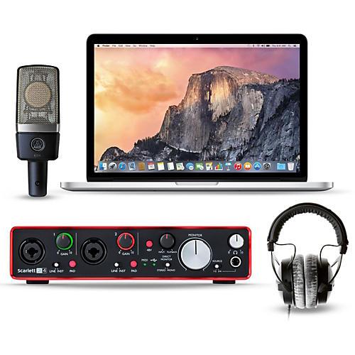Apple Laptop Recording Bundle