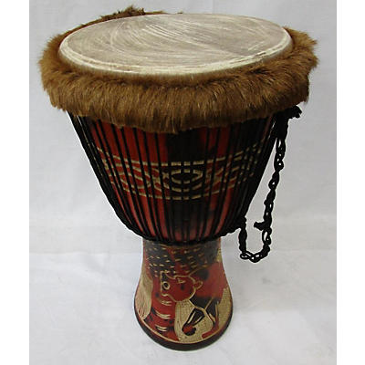 Miscellaneous Large African Djembe