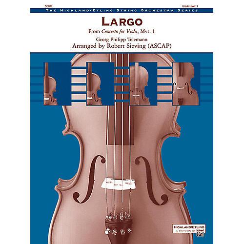 Alfred Largo String Orchestra Grade 3