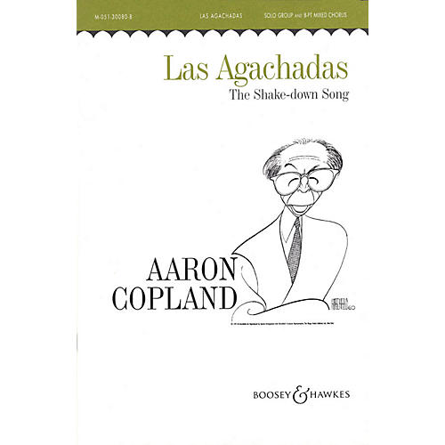 Boosey and Hawkes Las Agachadas (The Shake-down Song) SATB DV A Cappella composed by Aaron Copland