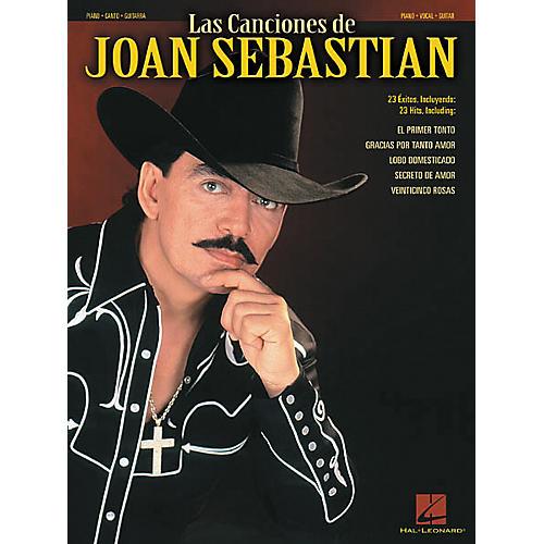 Hal Leonard Las Canciones De Joan Sebastian Piano, Vocal, Guitar Songbook