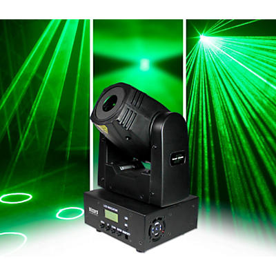 Blizzard Laser Blade G Mini Moving Head Green Laser
