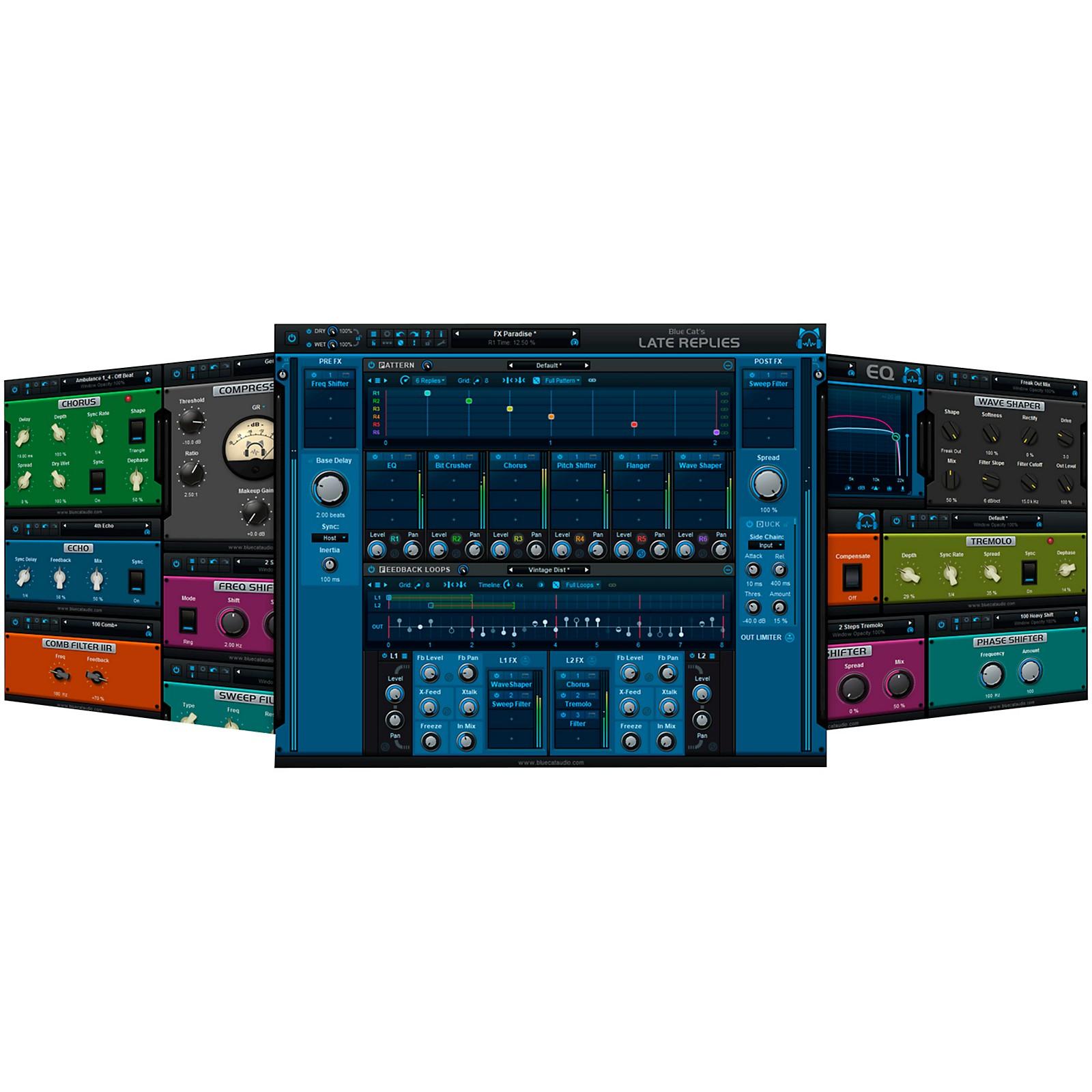 Blue Cat Audio Late Replies Creative Delay Workstation