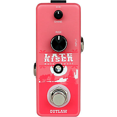 Outlaw Effects Late Riser Volume Swell Effects Pedal