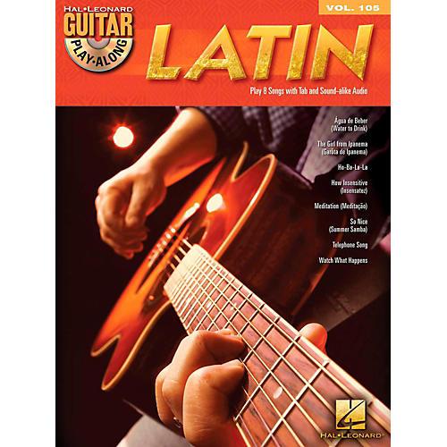 Hal Leonard Latin - Guitar Play-Along Volume 105 Book/CD