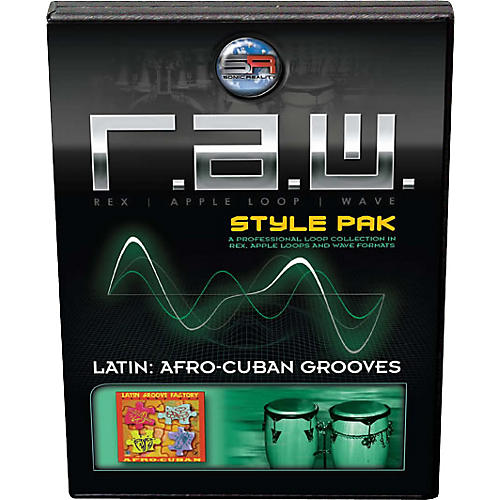 Sonic Reality Latin: Afro-Cuban Grooves R.A.W. Style Pak