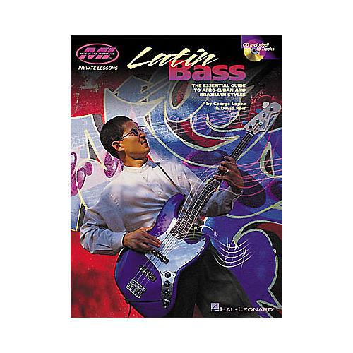 Hal Leonard Latin Bass Book/CD