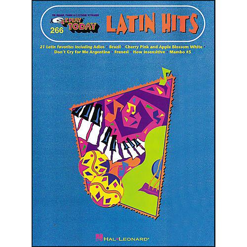 Hal Leonard Latin Hits E-Z Play 266