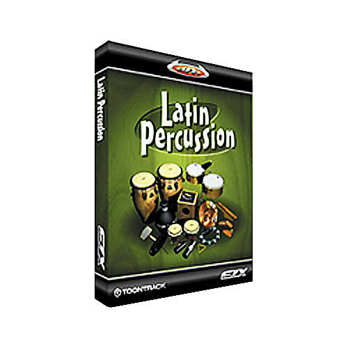 Toontrack Latin Percussion EZX Sample Library