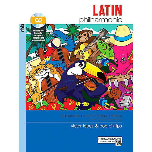 Alfred Latin Philharmonic - Viola Book & CD