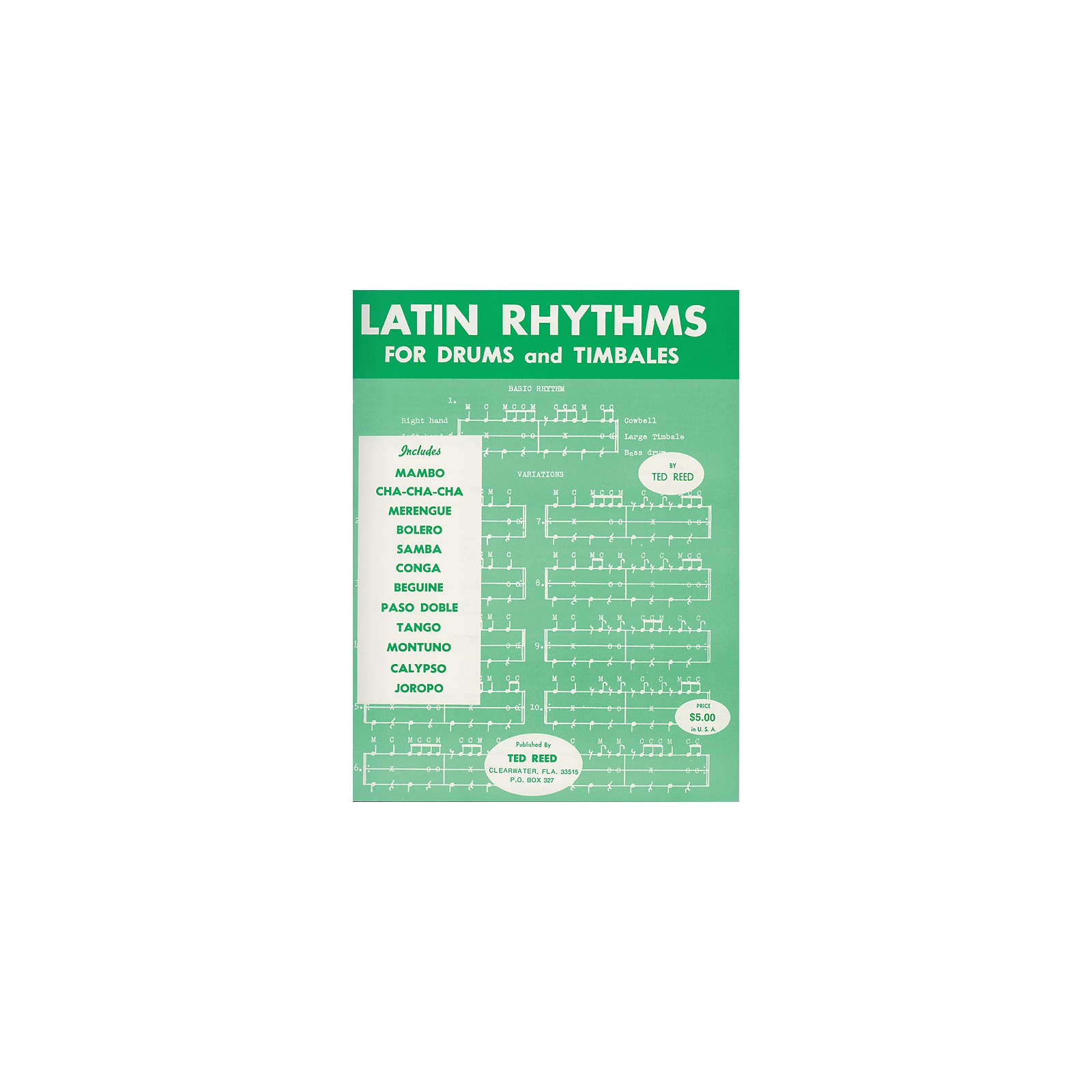 Alfred Latin Rhythms for Drums and Timbales Book