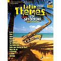 Schott Latin Themes for Tenor Saxophone Instrumental Play-Along Series Book with CD thumbnail