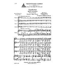 Boston Music Laudamus (Bryn Calfaira) TTBB Composed by William Owen Arranged by Daniel Protheroe
