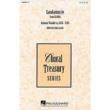 Hal Leonard Laudamus Te (from Gloria) SA arranged by John Leavitt