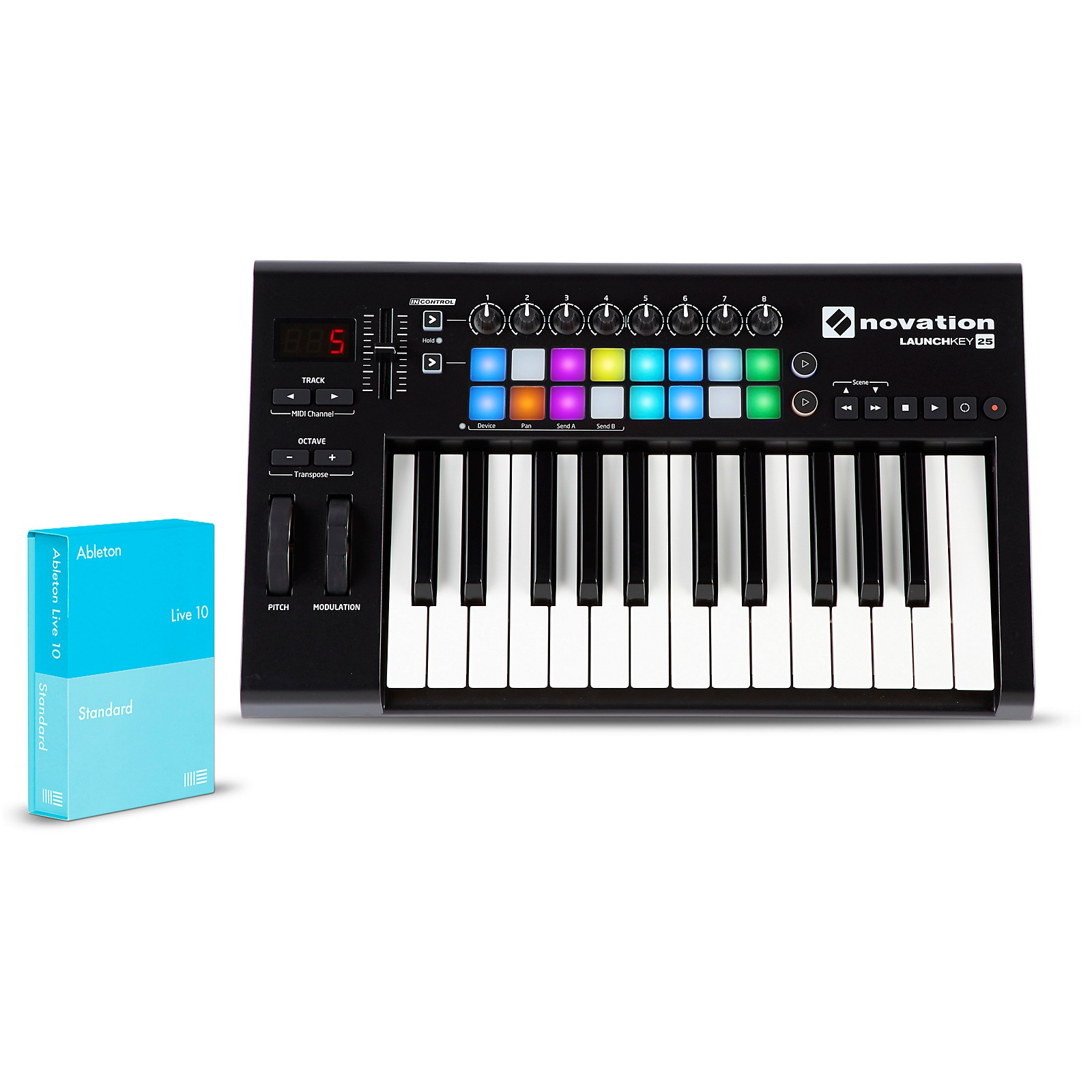 Novation Launchkey 25 with Ableton Live 10 Standard