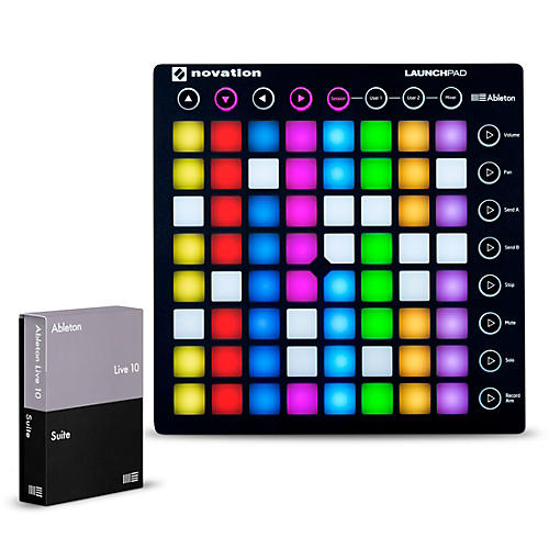 novation launchpad with ableton live 10 suite musician 39 s friend. Black Bedroom Furniture Sets. Home Design Ideas