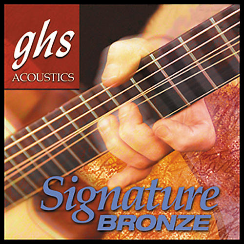 GHS Laurence Juber Signature Bronze Extra Light Strings